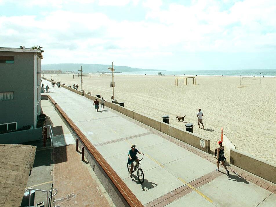 The Strand in Hermosa Beach
